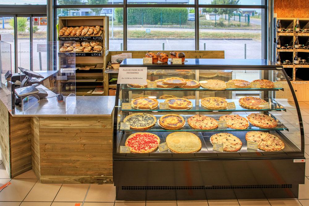 Rayon tartes et pizzas